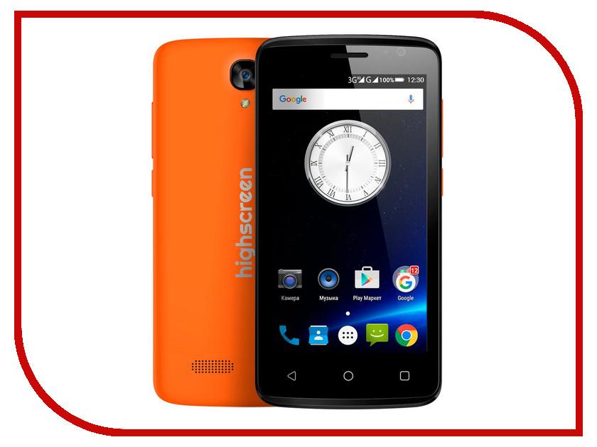 Сотовый телефон Highscreen Easy F Pro Orange<br>