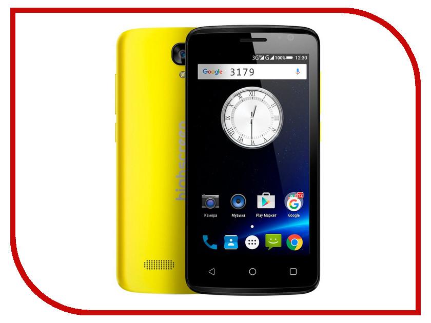 Сотовый телефон Highscreen Easy F Pro Yellow
