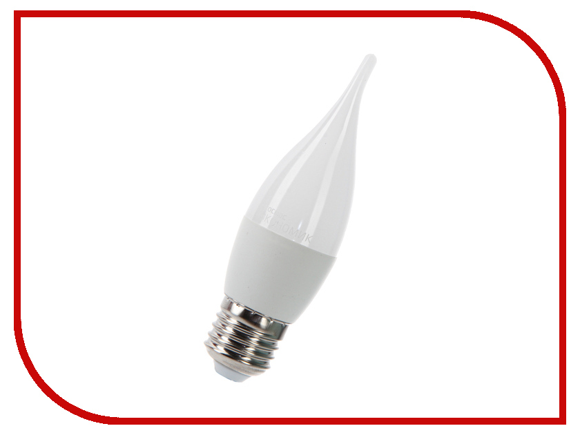 Лампочка Космос Экономик LED CW 7.5W 220V E27 3000K LkecLED7.5wCWE2730