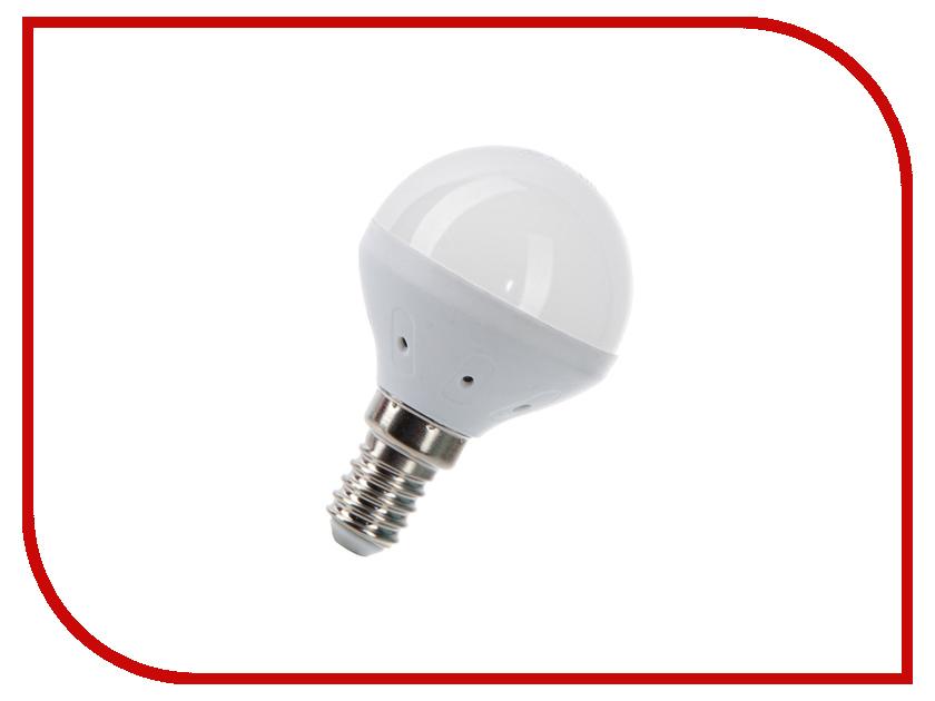 Лампочка Космос Экономик LED GL45 5.5W 220V E14 3000K LkecLED5.5wGL45E1430