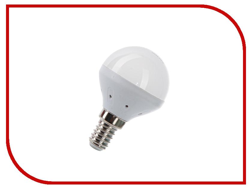 Лампочка Космос Экономик LED GL45 5.5W 220V E14 4500K LkecLED5.5wGL45E1445<br>
