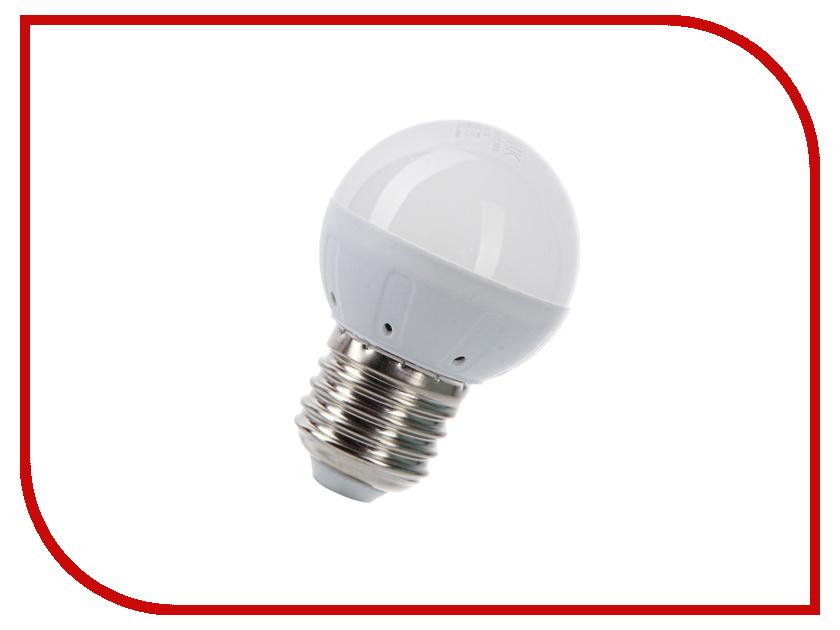 Лампочка Космос Экономик LED GL45 5.5W 220V E27 3000K LkecLED5.5wGL45E2730