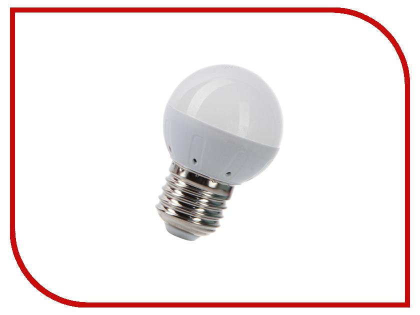 Лампочка Космос Экономик LED GL45 5.5W 220V E27 4500K LkecLED5.5wGL45E2745<br>