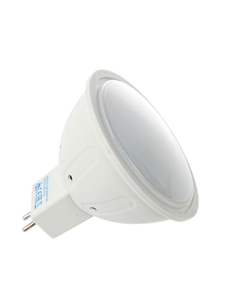Лампочка Космос Экономик LED JCDR GU5.3 5.5W 220V 3000K 400Lm Warm Light LkecLED5.5wJCDRC30