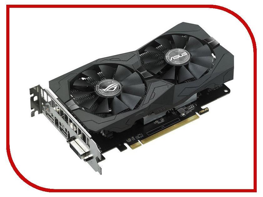 ���������� ASUS Radeon RX 460 1236Mhz PCI-E 3.0 4096Mb 7000Mhz 128-bit DVI HDMI HDCP ROG STRIX-RX460-O4G-GAMING