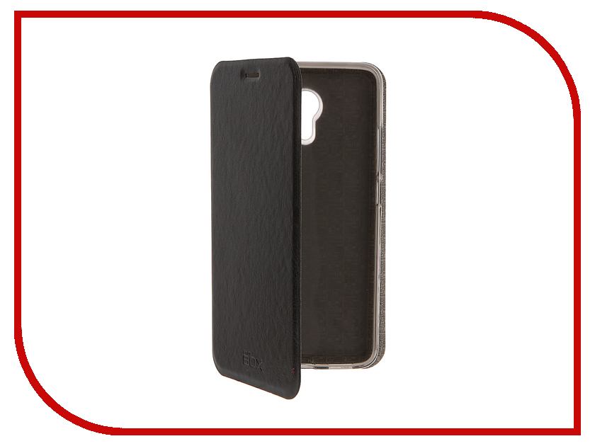 Аксессуар Чехол Meizu M3 Note SkinBox Lux Black T-S-MM3N-003