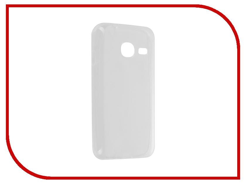 Аксессуар Чехол Samsung Galaxy J1 mini 2016 SkinBox 4People Transparent T-S-SGJ1m2016-006<br>