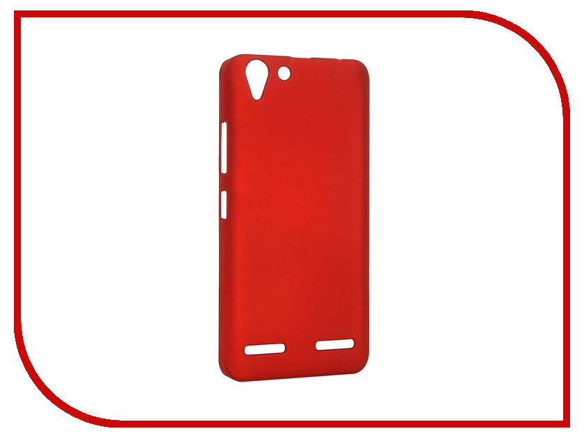 Аксессуар Чехол Lenovo K5 / K5 Plus SkinBox Shield 4People Red T-S-LK5N-002<br>