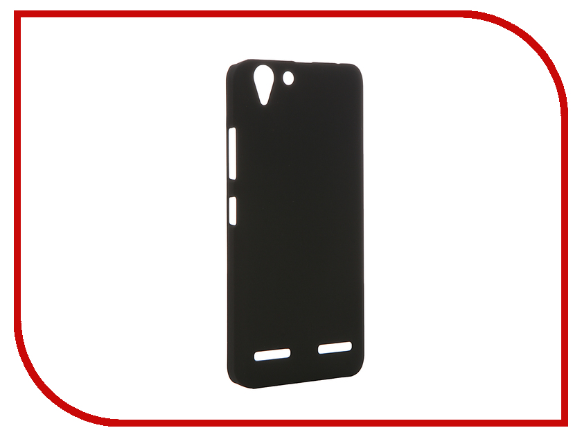 Аксессуар Чехол Lenovo K5 / K5 Plus SkinBox Shield 4People Black T-S-LK5N-002<br>