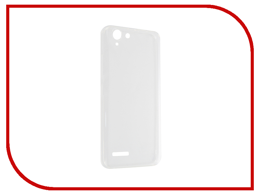 Аксессуар Чехол Lenovo K5 / K5 Plus SkinBox Slim Transparent T-S-LK5-006<br>