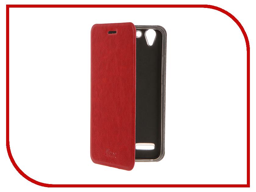 Аксессуар Чехол Lenovo K5 / K5 Plus SkinBox Lux Red T-S-LK5-003<br>