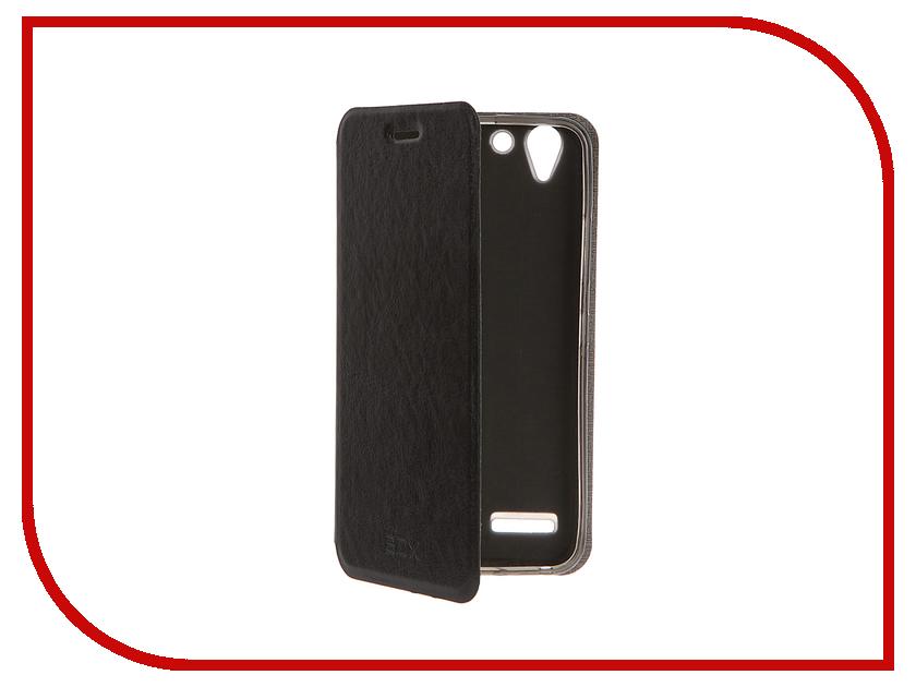 Аксессуар Чехол Lenovo K5 / K5 Plus SkinBox Lux Black T-S-LK5-003<br>