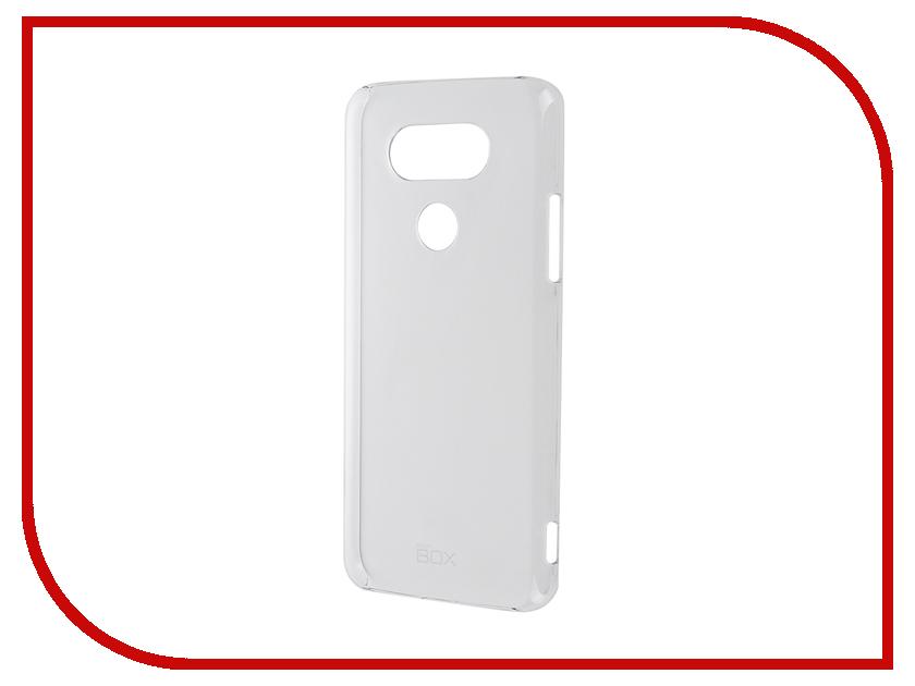 Аксессуар Чехол LG G5 SkinBox Crystal 4People Transparent T-S-LG5-007