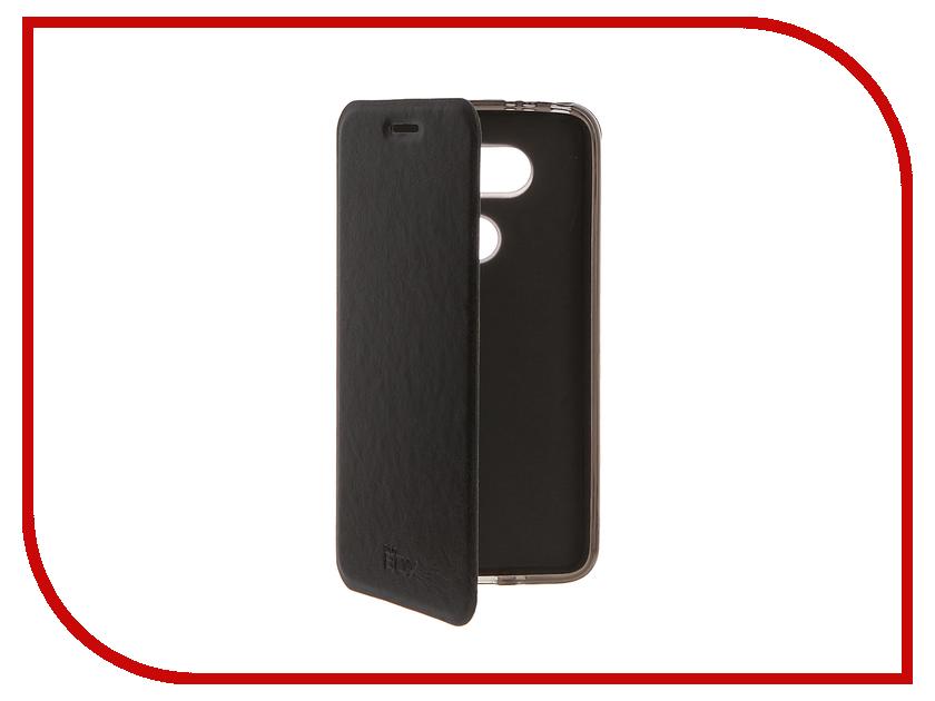 Аксессуар Чехол LG G5 SkinBox Lux Black T-S-LG5-003<br>