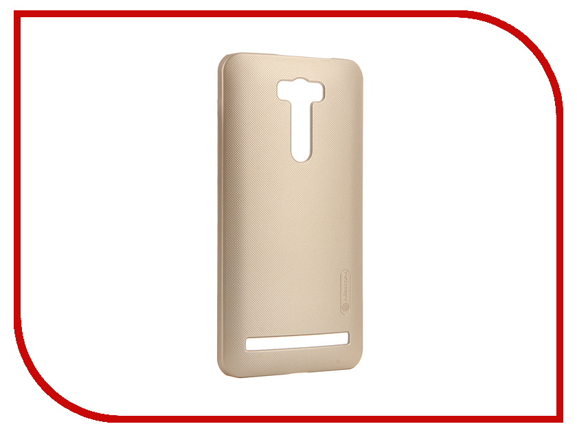 Аксессуар Чехол ASUS ZenFone 2 Laser ZE600KL / ZE601KL Nillkin Frosted Shield Gold<br>