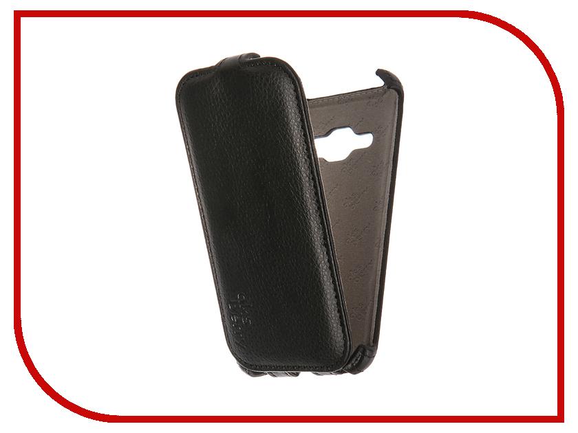Аксессуар Чехол Samsung SM-J120 Galaxy J1 2016 Aksberry Black<br>