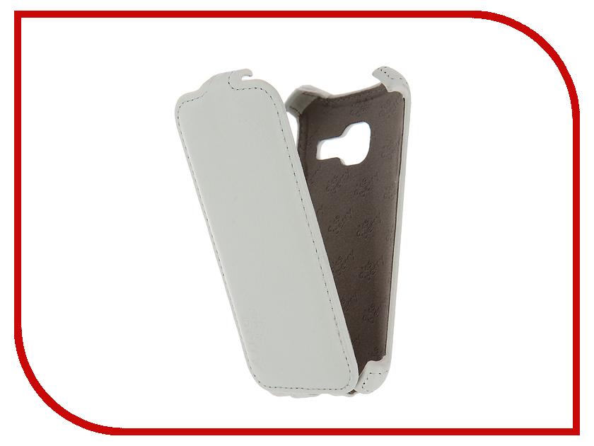 Аксессуар Чехол Samsung SM-J105H Galaxy J1 mini 2016 Aksberry White<br>