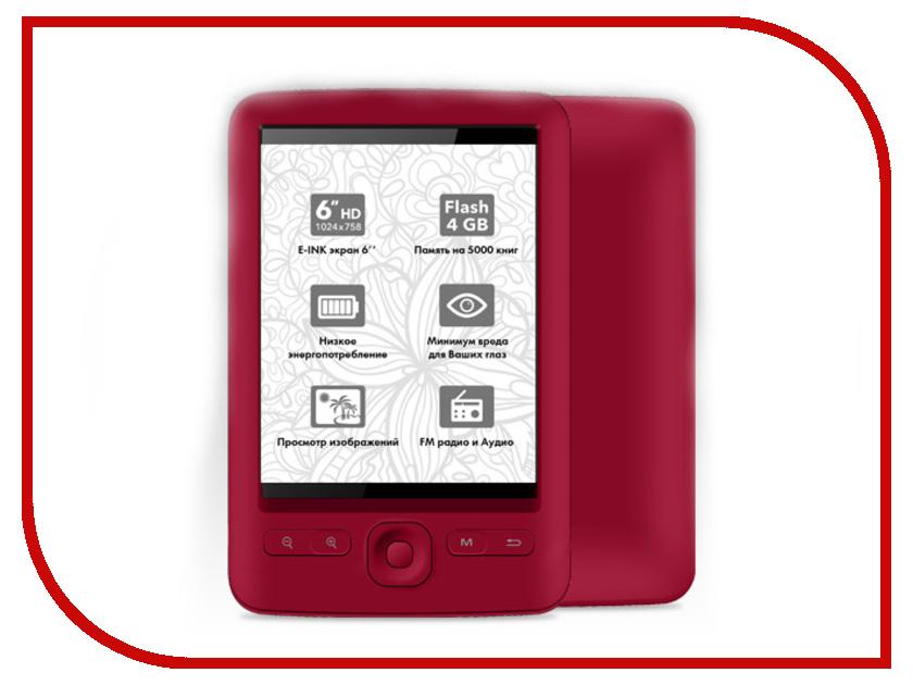 Электронная книга BQ R002 Poem Red