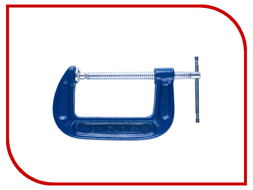 Инструмент Brigadier 80mm 22063 - струбцина<br>