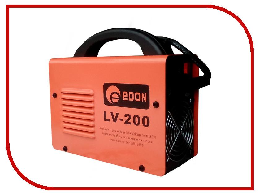 Сварочный аппарат Edon LV-200 бензопила edon edc 5218