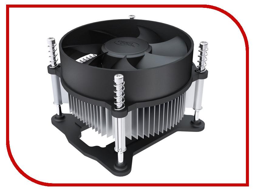 Кулер DeepCool CK-11508 (1150/1155/1156) 3pin deepcool ck am209 кулер для процессора