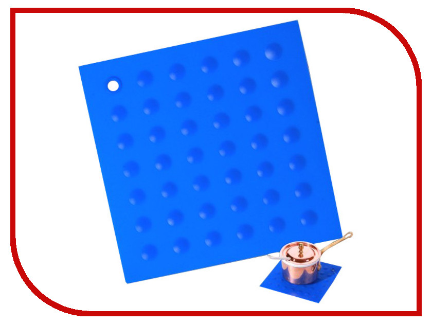 Кухонная принадлежность Fortuna Silicone Прихватка Blue FSI166-BL<br>