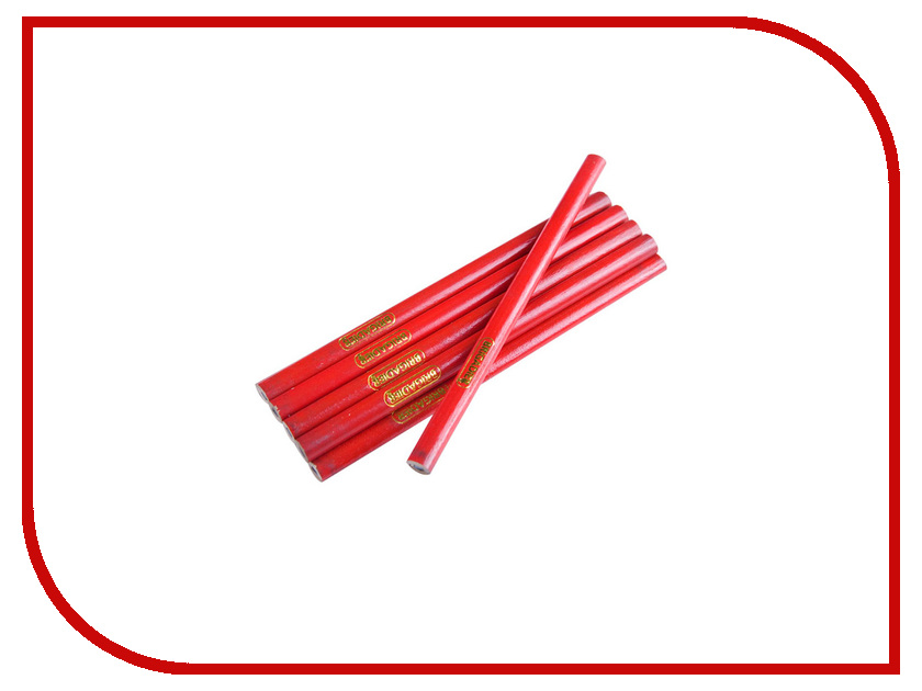 Инструмент Brigadier 13016 10шт - набор строительных карандашей