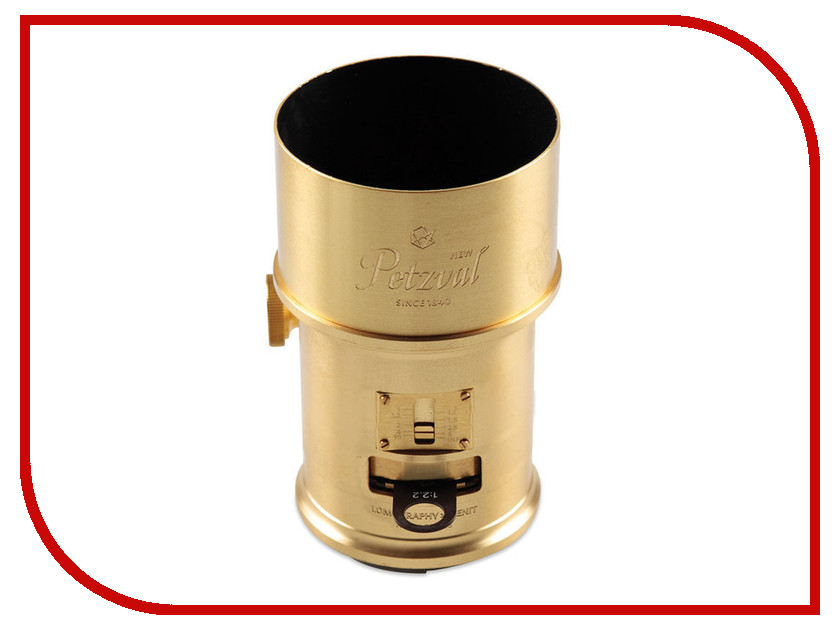 Объектив Lomography Petzval Canon 85 mm f/2.2 Art Lens Brass<br>