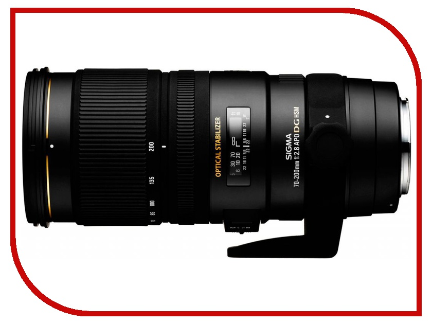 Объектив Sigma Nikon AF 70-200 mm F/2.8 APO EX DG OS HSM купить sigma 18 200 мм для pentax