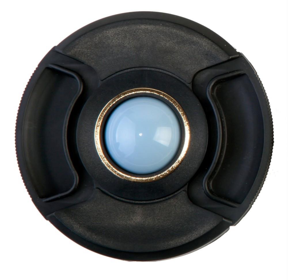 Аксессуар 72mm - Flama FL-WB72N lens cap D72 Black/Gold для защиты и установки баланса белого