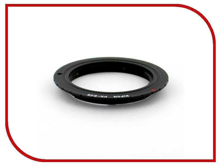 Переходное кольцо Kipon Adapter Ring Pentax P/K - Canon EOS