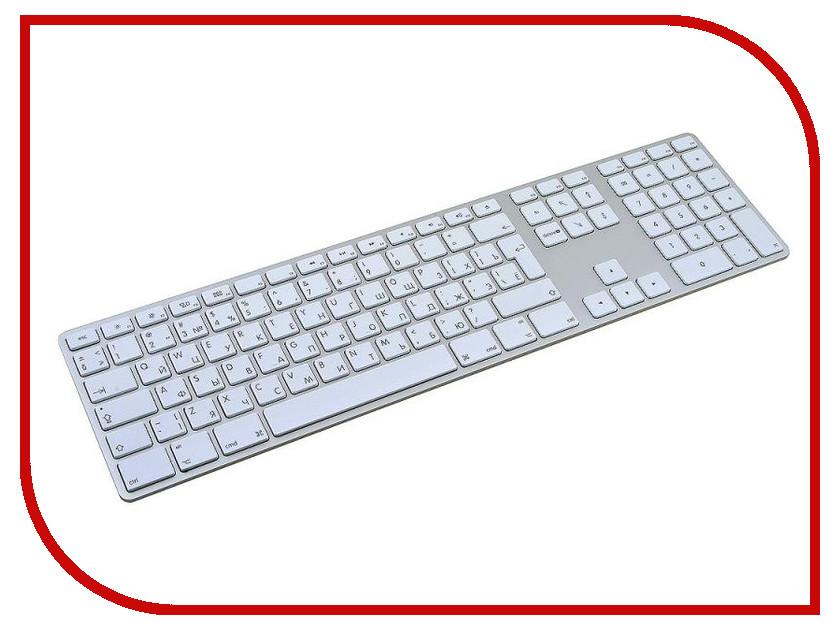 Клавиатура Apple MB110 Wired Keyboard White USB<br>