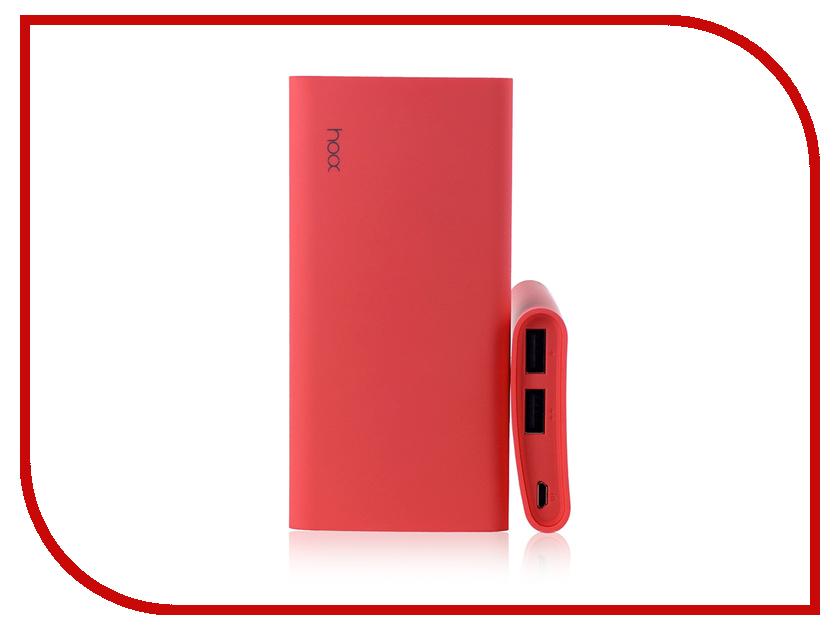 Аккумулятор Hoox Comma 6000 mAh Pink HO-CM6000-P