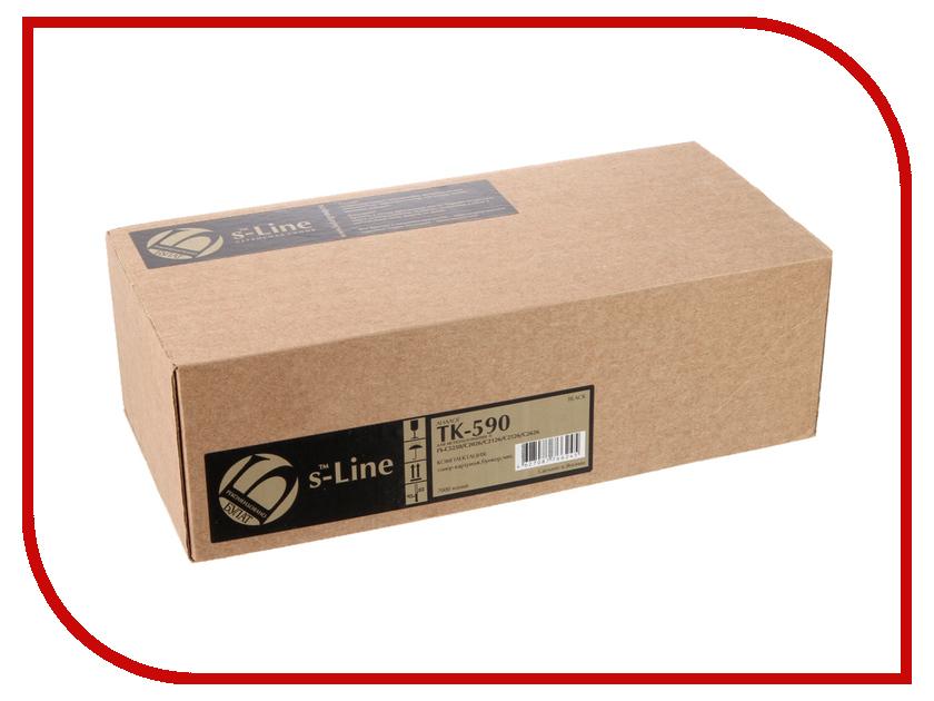 Тонер S-Line TK-590B для Kyocera FS-C5250/C2026MFP BAMTFSC525050