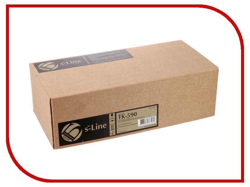 Картридж S-Line TK-590M для Kyocera FS-C5250/C2026MFP BAMTFSC525070 m fx 40du tk es s