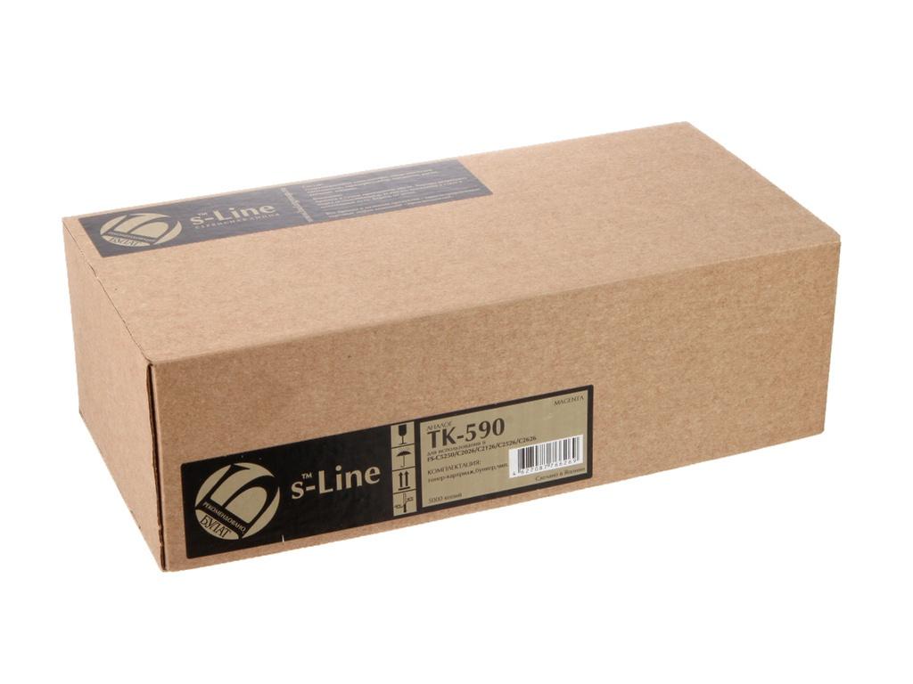 Картридж S-Line TK-590M для Kyocera FS-C5250/C2026MFP BAMTFSC525070