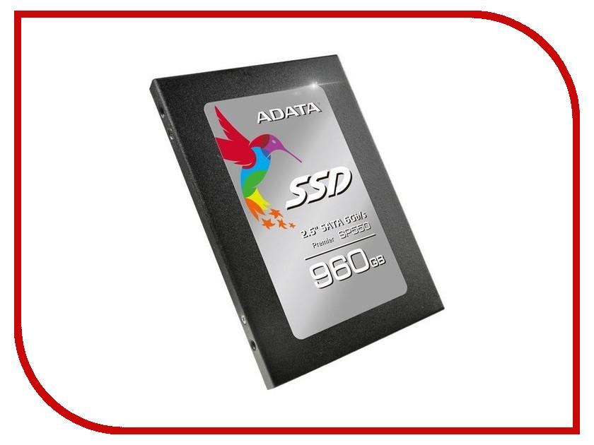 Жесткий диск 960Gb - A-Data Premier SP550 ASP550SS3-960GM-C
