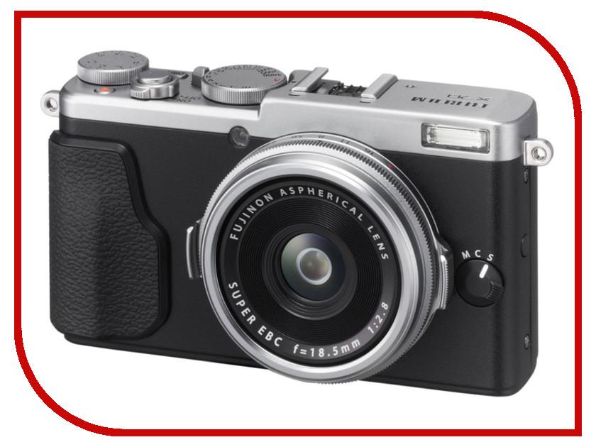 Фотоаппарат FujiFilm X70 Silver<br>