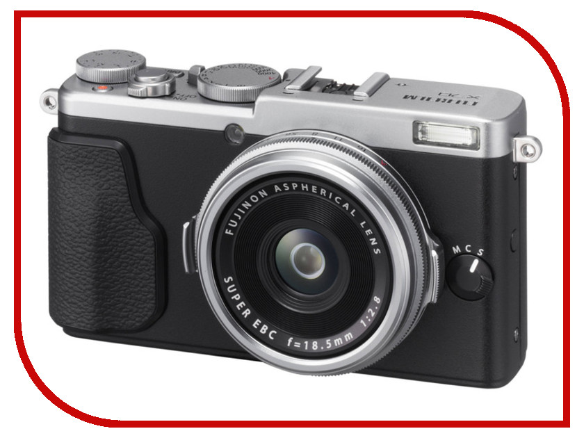 Zakazat.ru: Фотоаппарат FujiFilm X70 Silver