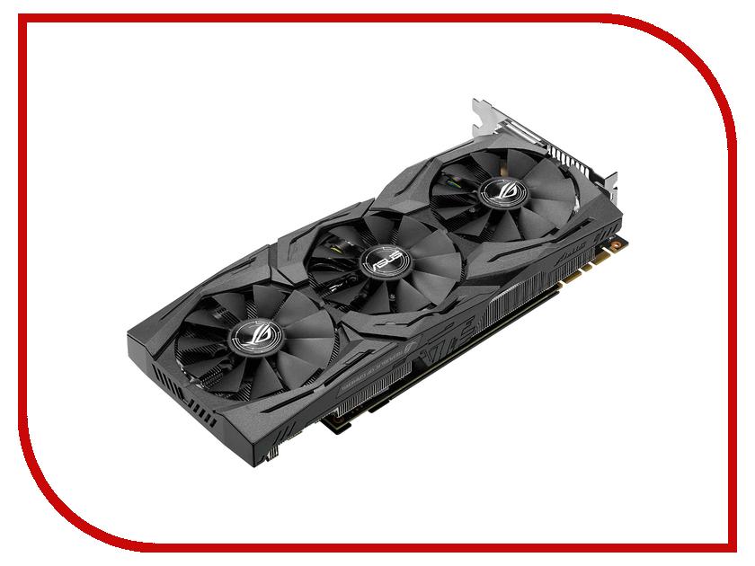 Видеокарта ASUS GeForce GTX 1080 1784Mhz PCI-E 3.0 8192Mb 10010Mhz 256 bit DVI 2xHDMI HDCP STRIX-GTX1080-O8G-GAMING<br>