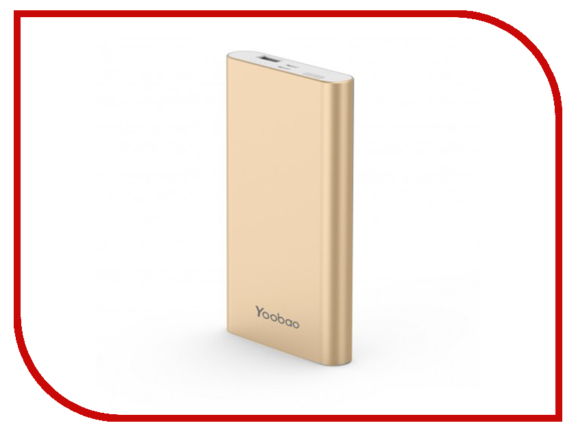 Аккумулятор Yoobao Power Bank PL10 10000mAh Gold