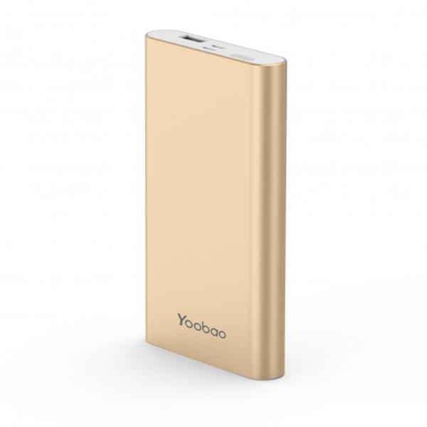 Аккумулятор Yoobao Power Bank PL10 10000mAh Gold аккумулятор yoobao 15600 mah yb 6017 pink
