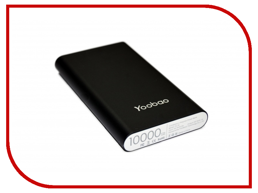 Аккумулятор Yoobao Power Bank PL10 10000mAh Black