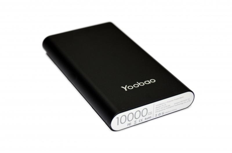 Аккумулятор Yoobao Power Bank PL10 10000mAh Black аккумулятор yoobao 15600 mah yb 6017 pink