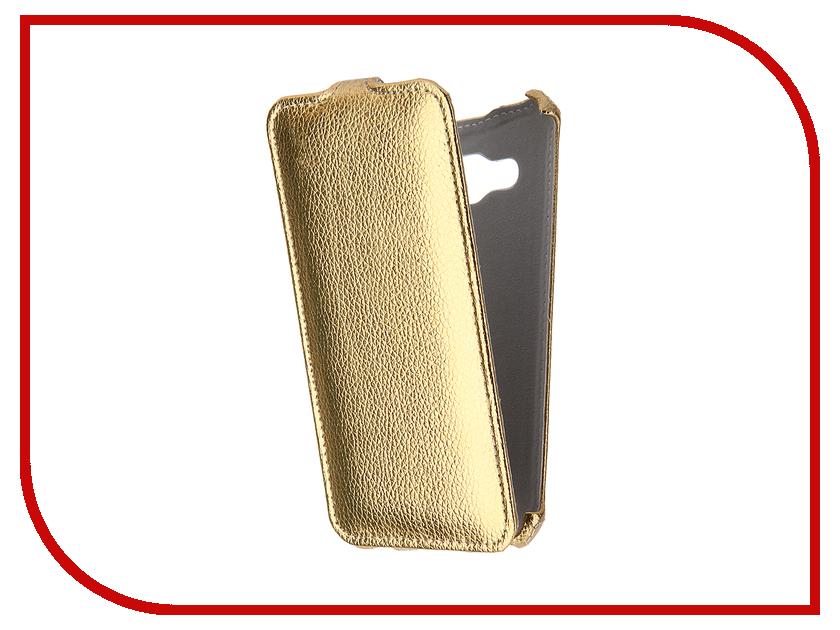 Аксессуар Чехол Samsung Galaxy J3 J320F/DS 2016 Gecko Gold GG-F-SGJ3-2016-GOLD<br>