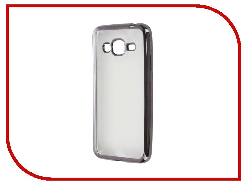 Аксессуар Чехол Samsung Galaxy J3 2016 Acqua Moonray Gun Metal 54113<br>