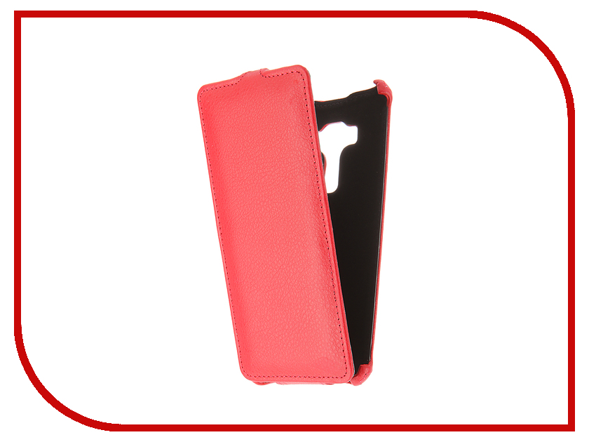 Аксессуар Чехол ASUS ZenFone 3 ZS570KL Gecko Red GG-F-ASZS570KL-RED<br>