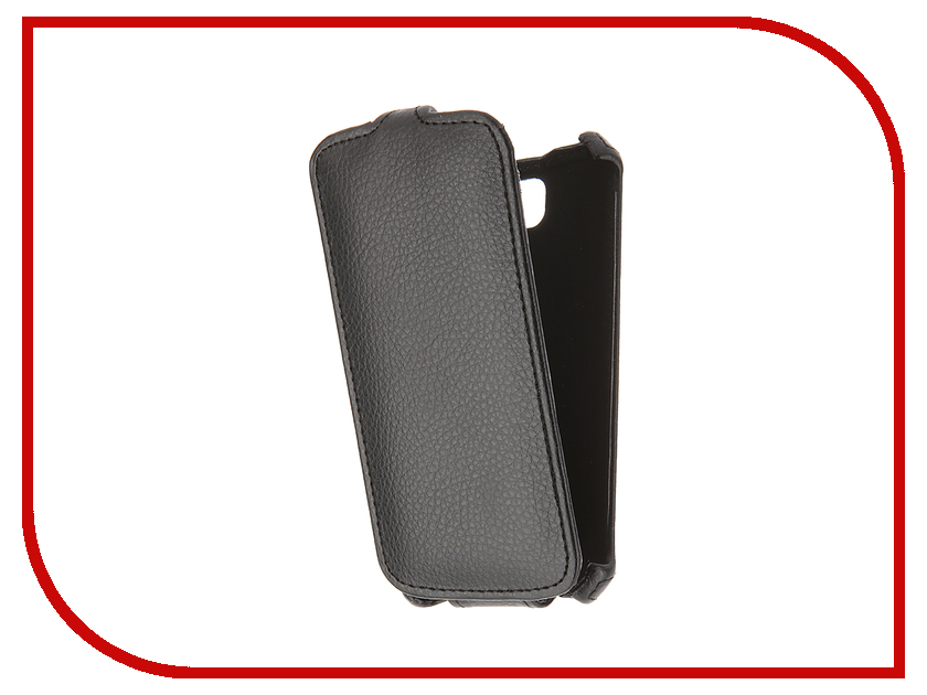 Аксессуар Чехол LG K3 LS450 Gecko Black GG-F-LGK3-BL