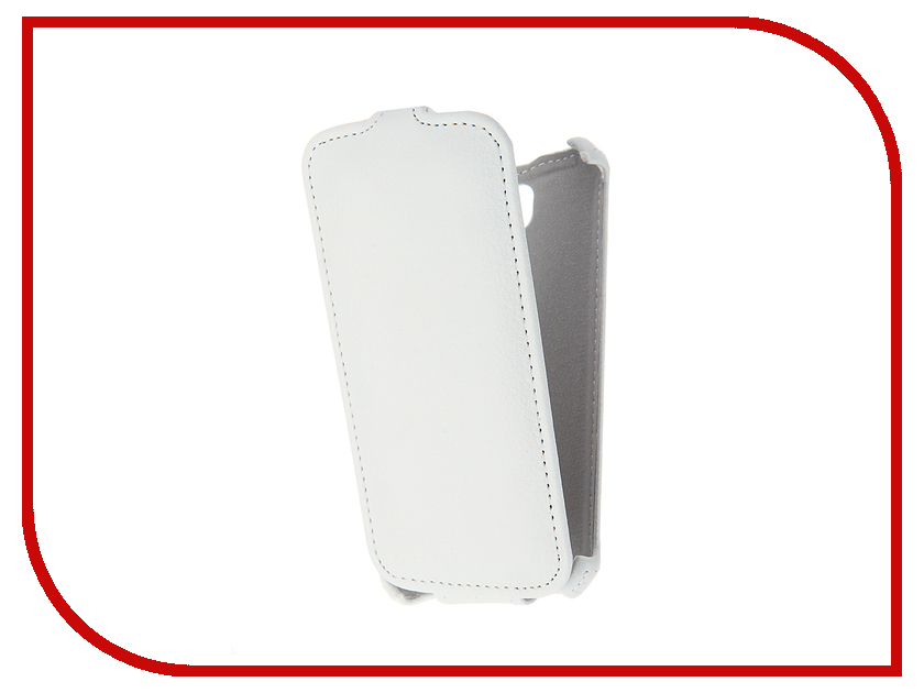 Аксессуар Чехол LG K3 LS450 Gecko White GG-F-LGK3-WH