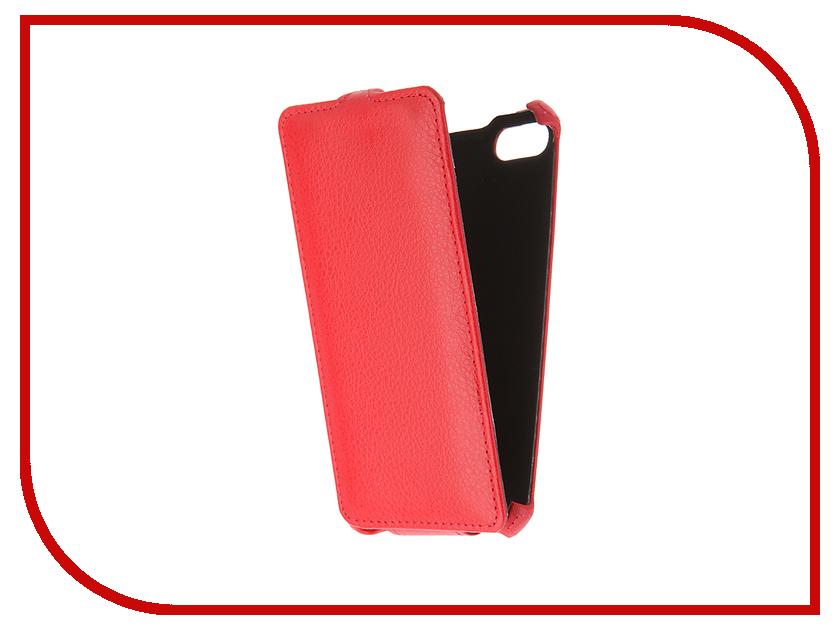 Аксессуар Чехол для BQ BQS-5020 Gecko Red GG-F-BQ5020-RED